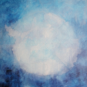 Cryosphere, acrylic on canvas, 2009