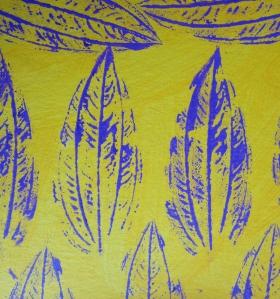 Printing leaves