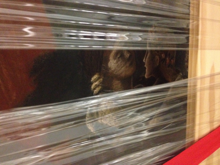 Burne-Jones under wraps