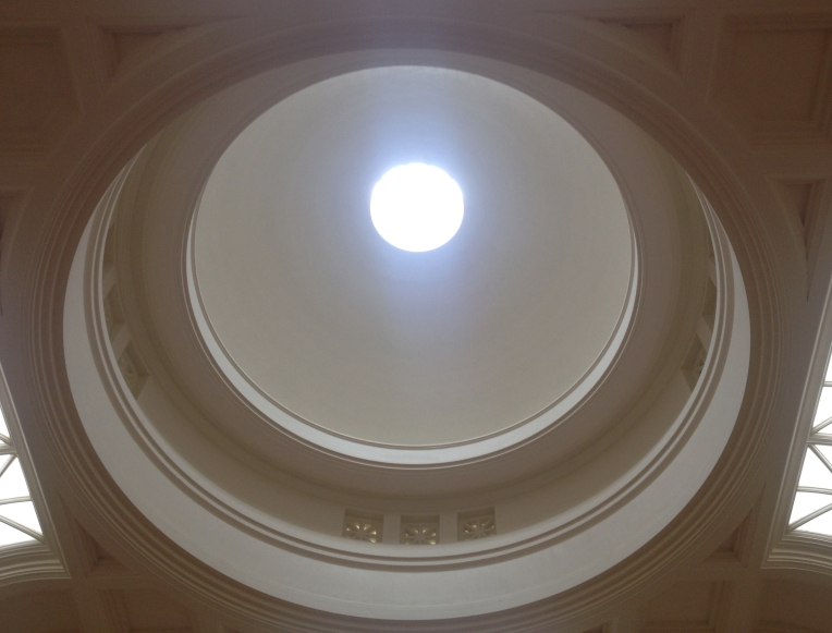 Sarjeant Gallery dome