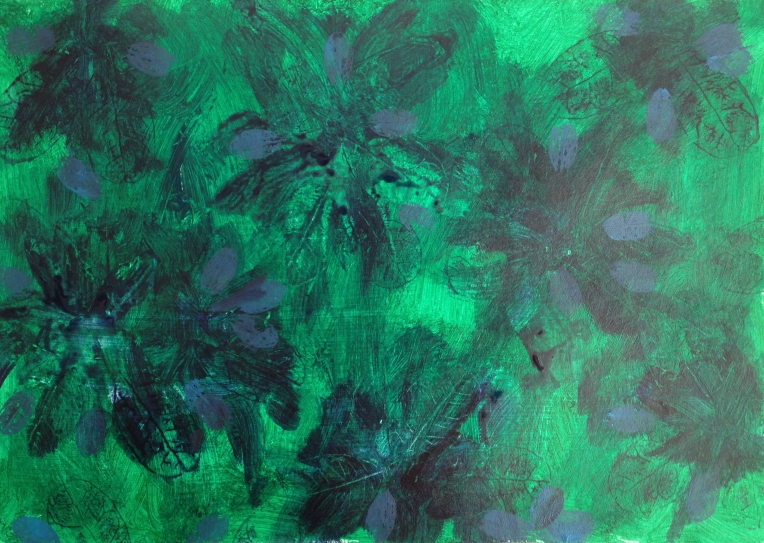 Emerald painting