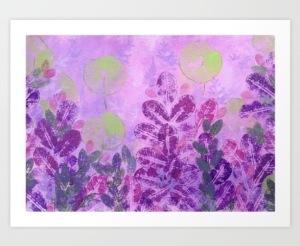 Nasturtiums print