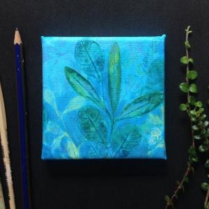 FELT Blue painting1